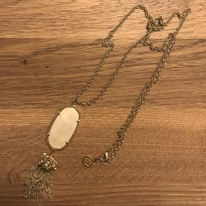 White Pearl Rayne Necklace
